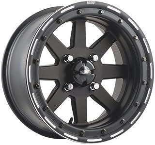 5.0 Black for Yamaha YFZ450R 2009-2018 4//115 Douglas Ultimate G3 Beadlock Wheel 9X8 3.0