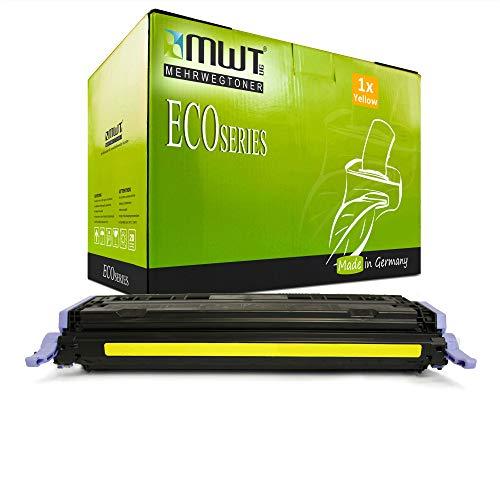 1x MWT kompatibel Toner für HP Color Laserjet cm 1015 1017 MFP ersetzt Q6002A 124A