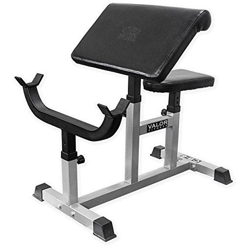 Valor Fitness CB Preacher Curl Bench