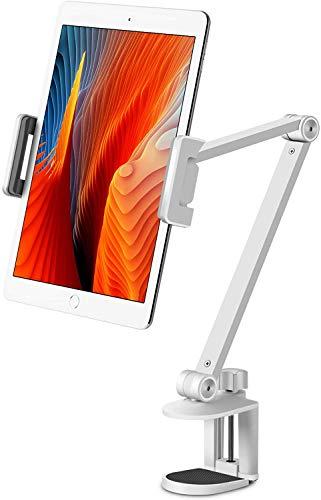VINOK Soporte para tablet de 360 grados, cuello de cisne, cama, soporte ajustable para tablet, compatible con teléfonos móviles de 4,5 a 13 pulgadas y tabletas, iPhone, iPad