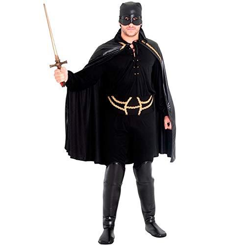 Fantasia Zorro Adulto Mascarado Completa Suamericana P 38-40