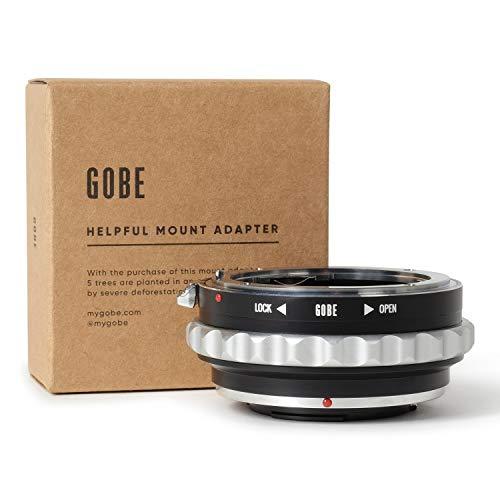 Adaptador 4/3 A Micro 4/3  marca Gobe