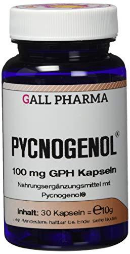 Gall Pharma Pycnogenol 100 mg GPH Kapseln, 1er Pack (1 x 30 Stück)