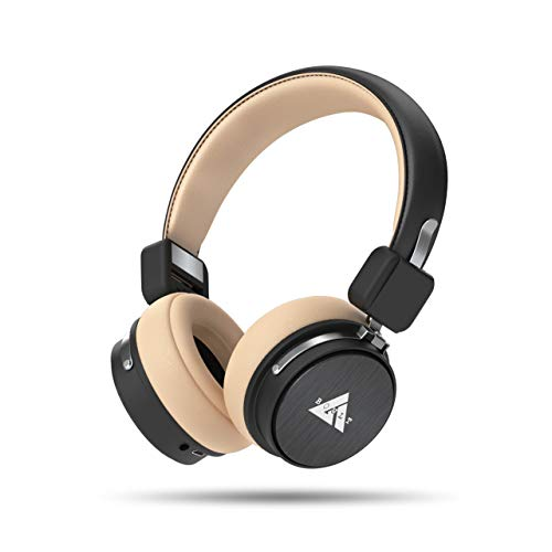 Boult Audio ProBass Flex Over-Ear Wireless Bluetooth Headphones with Mic & Extra Bass, Headset with Wired Connectivity Option & Long Battery Life