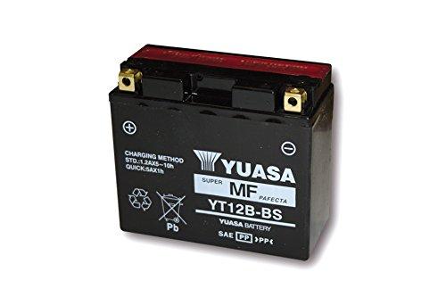 YUASA accu YT 12 B-BS onderhoudsvrij (AGM) Prijs incl. wettelijke garantie van de accu € 7,50 incl. BTW