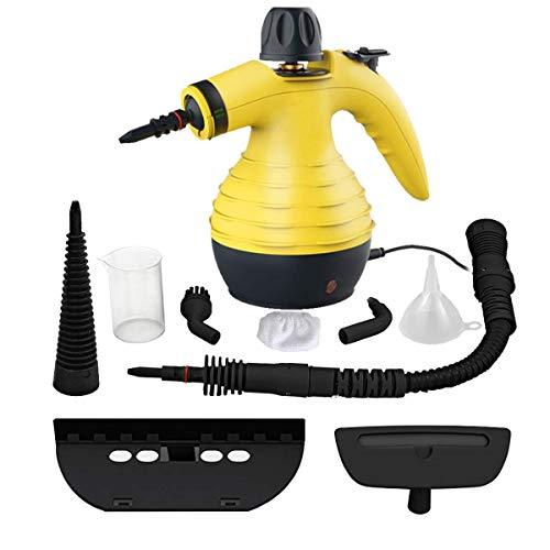 CWWHY Hand Pressurized Dampfreiniger, Multi-Purpose Hochdruckreiniger, Mit 9-Teiliges Zubehör, Für Viel Mehr Fleckenentferner