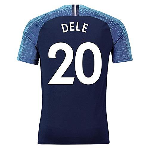 DELE Alli #20 Herren Fußball Trikot -Atmungsaktiv, Schnell Trocknend,Blue-M