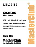 マスタークラブ MTL-35185 1/35 マチルダ 後期型 Flat type用履帯