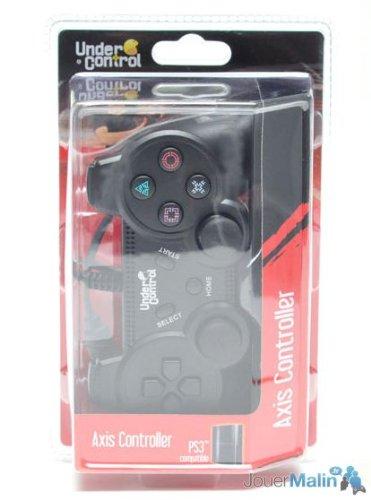 Manette Filaire Vibrante -PS3-Noire