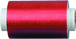 Fripac-Medis Hair Super-Plus Pressed Aluminium Foil 100 m x 12 cm, Red