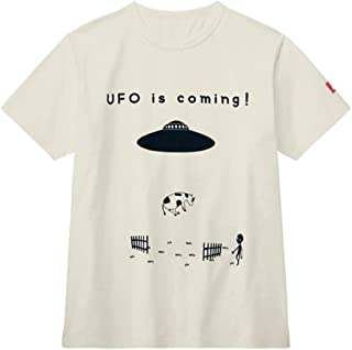 [ベルメゾン] Tシャツ メンズ 月間ムー 親子お揃い 大人ふしぎ 半袖 UFO