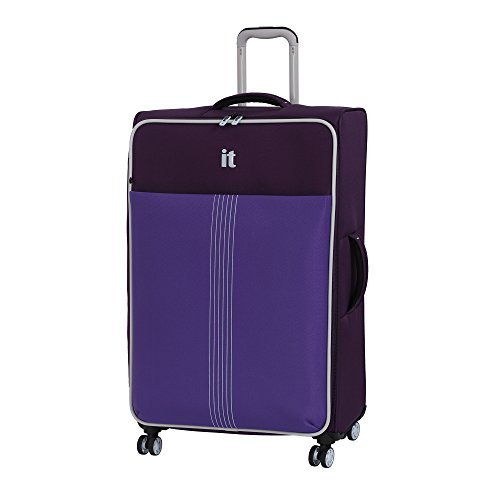 it luggage Filament 8 Wheel Lightweight Semi Expander Large Suitcase, 80 cm, 125 L, Sky Purple