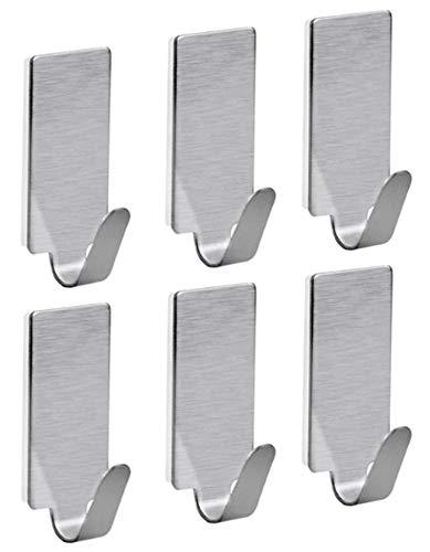Selbstklebende Mini-Wandhaken zum einfachen Aufhängen von Schlüsseln, Schmuck, Hundeleinen, Masken...
