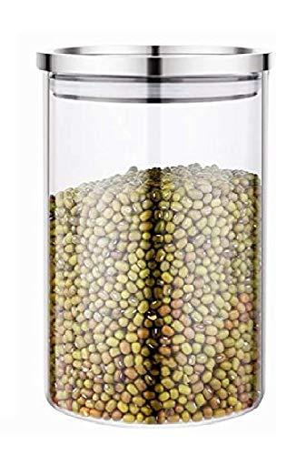 食品保存容器 ガラス 保存びん 密封保存瓶 密閉容器 キャニスター コーヒー豆 茶葉 砂糖 保存容器 密封瓶 保存容器 750ml
