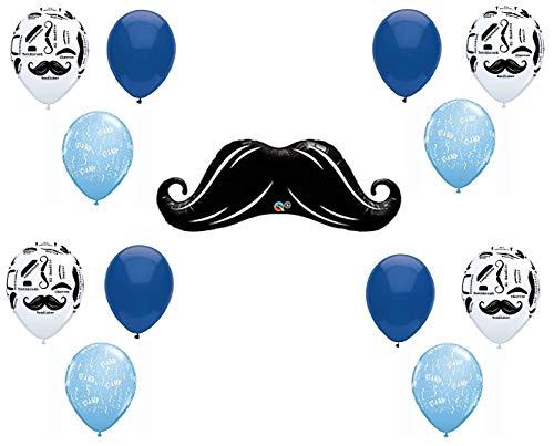 10 best mustache baby shower balloons for 2021
