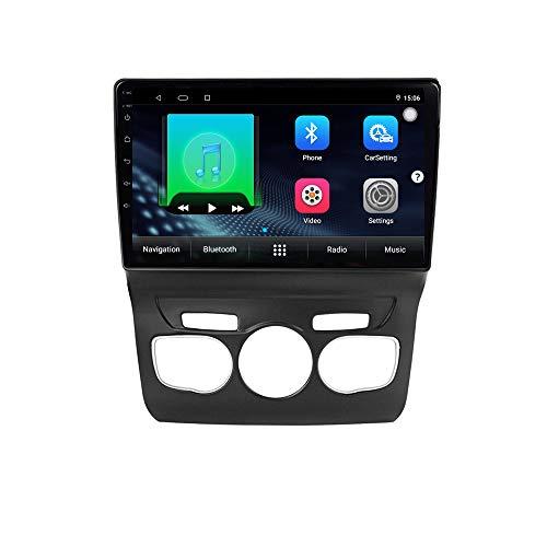 XISEDO Android Autoradio In-dash Car Radio 10.1 Pollici Car Stereo 4-Core RAM 2G ROM 32G Navigatore GPS con Schermo di Tocco per Citroen C4 C-Triomphe C-Quatre 2011-2016 (2011)