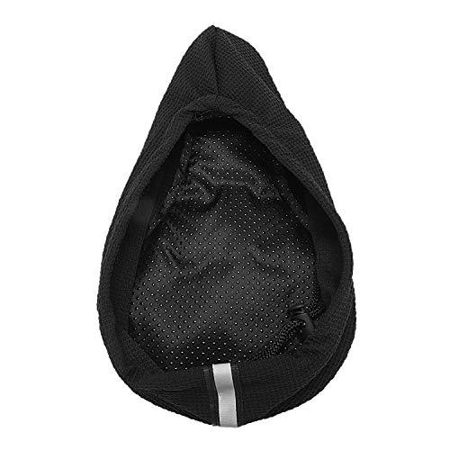 Haude R - Funda para sillín de bicicleta de montaña y bicicleta de montaña, cómoda y transpirable, color negro