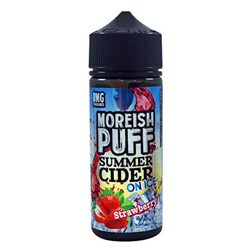 Strawberry - Summer Cider on ICE 100ml Shortfill Liquids by Moreish Puff 0.00mg Nikotinfrei
