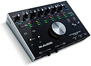 M-Audio M-Track 8X4M   Compact USB / USB-C Bus-Powered 8-In/4-Out 24/192 USB Audio/MIDI Interface With Zero Latency Monitoring, Rugged Metal Chassis And Pro-Grade Software Suite
