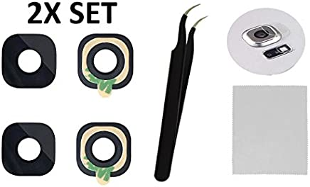 2X Back Rear Camera Glass Lens Cover Replacement + Tool +...