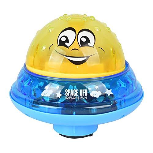 Elektrische Spray Ball Wasser Schwimmende Kugel Mit Licht, Musik, Ideale Badewanne Spielzeug Für Kinder, Babys, Kleinkinder Badezeit, 12 Monate +