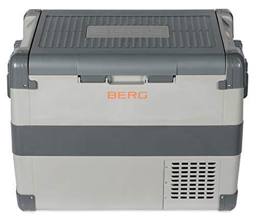 BERG 60 Litre Electric Large Portable Compressor Fridge Freezer Cool Box -...