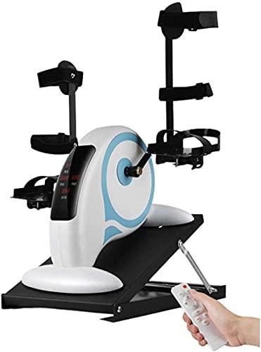 Yunyun pedalò a pedale scrivania elettrica elettrica ellittica macchina rimozione mini esercizio Bike Seated Compact Leg Machine con display a schermo piatto LCD-Pacchetto 2.