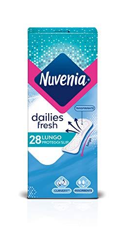 Nuvenia - Proteggi Slip, Lungo, Curve Fit - 28 Pezzi