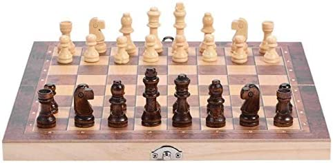 XIAOQIU Checkers Set Sale price New York Mall Foldable International Chess Wooden Che