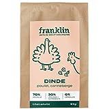 Franklin - Croquetas sin Cereales - Gato Adulto esterilizado - 100% Naturales - Hipoalergénicas - con Carne Fresca - Pavo, Pollo, ARÁNDANO - 6 kg