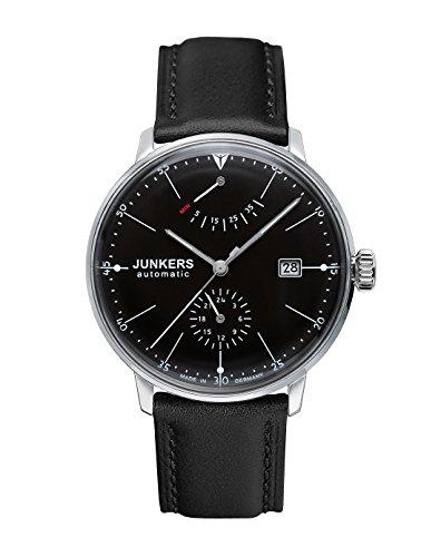 Junkers Herrenuhr Analog Automatisch mit Lederarmband – 60602