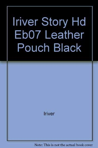 IRIVER STORY HD EB07 LEATHER POUCH BLACK