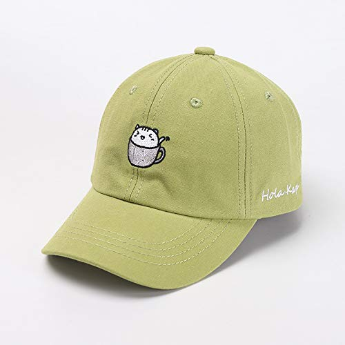 Gorra de béisbol para niños otoño Nuevo Lindo Bordado de Dibujos Animados niño niña bebé Sombrero Tendencia Sombrero para niños Coreanos