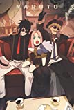 Naruto Composition Notebook: manga anime Naruto volume 1 to volume 72 Kakashi Hatake sharingan Itash...