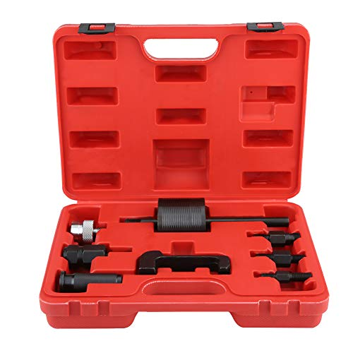 Zerone - Juego de 8 extractores de inyectores diésel para extracción de inyectores diésel, kit maestro de extracción de inyectores diésel