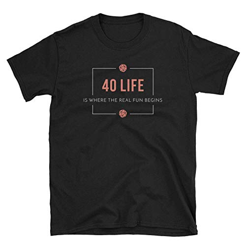 Kke 40 Life EDH - Magic The Gathering T-Shirt MTG Commander