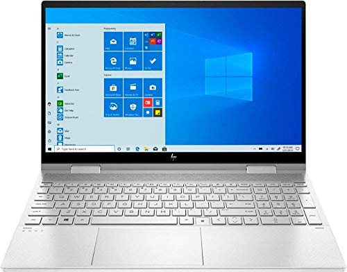 HP - Envy x360 2-in-1 15.6' Touch-Screen Laptop - Intel Core i7 - 12GB Memory - 512GB SSD + 32GB Optane - Natural Silver (Renewed)