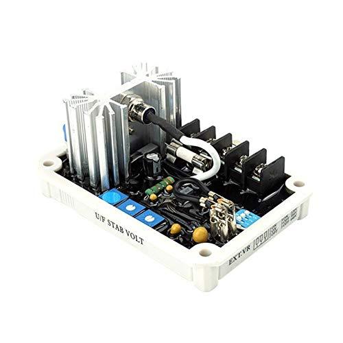 Controlador de velocidad del motor Regulador de voltaje del generador AVR, placa reguladora con protección contra sobretensión 50HZ 60HZ ajustable Para el generador de viento para la luz solar y la pl