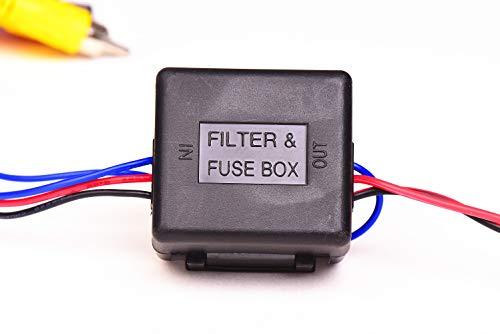 Signalfilter für Rückfahrkameras bei CAN-Bus Fahrzeugen (getaktete Rückfahrleuchten)