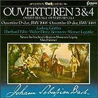Overturen 3 & 4: Overtures 3 & 4 BWV 1068, BWV 1069