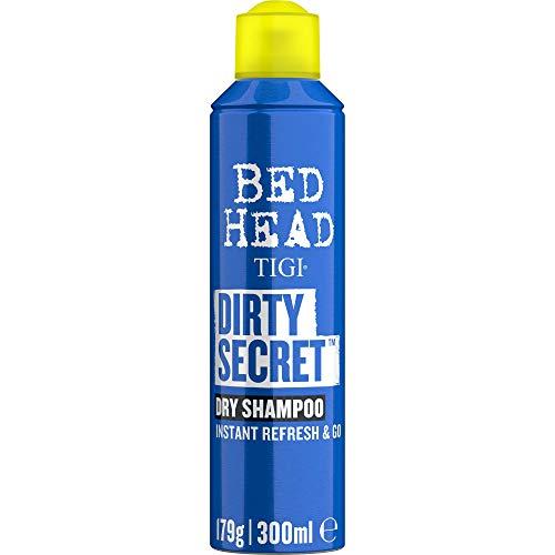 BED HEAD by TIGI - Dirty Secret, Champú en seco de lavado instantáneo, 300 ml