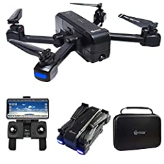 ☑️ GPS Assisted Flight Features - Shoot with ease when using the follow Me, Orbit Mode or Tapfly. Selfie Mode with Gesture Control, Headless Mode, Auto Hover, 1-Key Takeoff/ Landing & More! Great drone for beginners, will entertain hobbyists of all l...