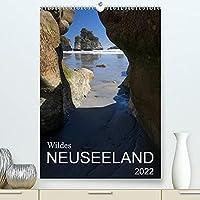 Wildes Neuseeland (Premium, hochwertiger DIN A2 Wandkalender 2022, Kunstdruck in Hochglanz): Momentaufnahmen aus dem Naturparadies Neuseeland, teilweise abseits der ausgetretenen Touristenpfade. (Monatskalender, 14 Seiten )