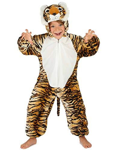 Generique - Disfraz Tigre niño 7-9 años (122-128 cm)