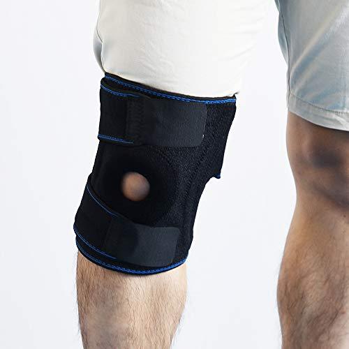 XMXWQ Rodillera, estabilizador rotuliano de Rodillera para Soporte de LCA, Rotura de menisco, Codo de tenista, Codo de Golfista, Dolor de Rodilla, irritación del tendón de Aquiles, etc.