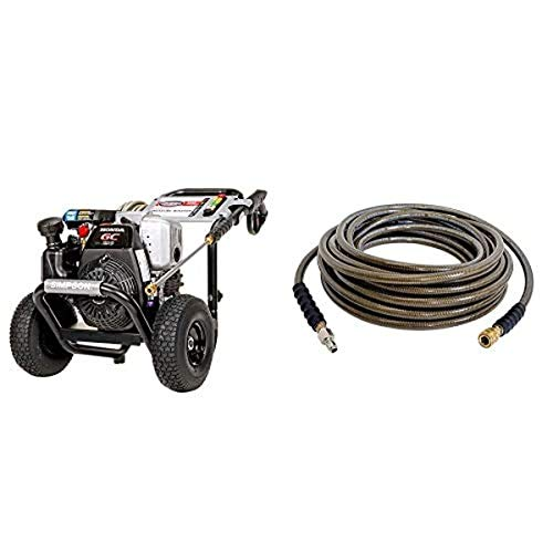 Simpson Cleaning MSH3125 MegaShot Gas Pressure Washer Powered by Honda GC190, 3200 PSI at 2.5 GPM 41030-3/8