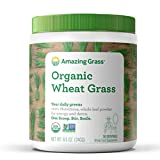 Amazing Grass Organic Wheat Grass Powder: 100% Whole-Leaf Wheat Grass...