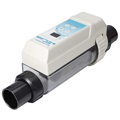 01 Generadores de Cloro salino de Agua Salada para Piscinas 8G/H | Detección de Nivel de Agua | Alarma automática | Dispositivo clorador de Sal de electrólisis de protección de Temperatura del