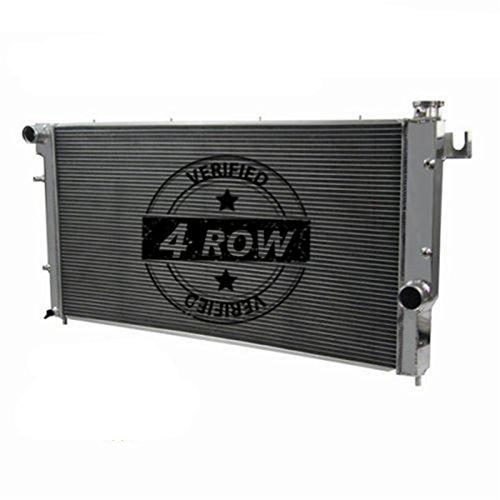 Primecooling 4 Row Aluminum Radiator for 1994-02 Dodge Ram 2500 3500, Quad Cab 5.9L Turbo Diesel Engine