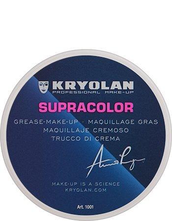 KRYOLAN Theaterschminke Supracolor Fettschminke Creme Make up 8 ml Farbe ivory2 Aufheller